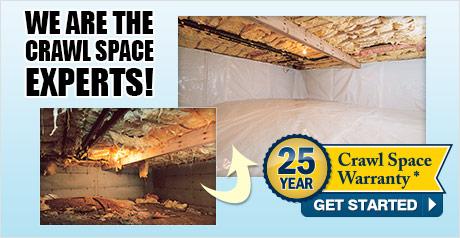 We are the Northwestern Colorado Crawl Space Repair Experts!